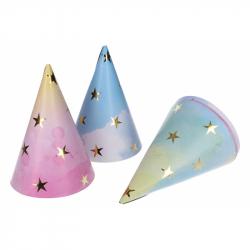 Párty kloboučky Hvězdy 6ks