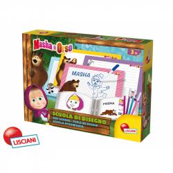 Lisciani Kreslící tabulky Máša a medvěd