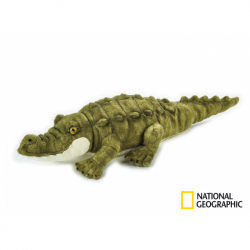 National Geographic plyšák Krokodíl 40 cm