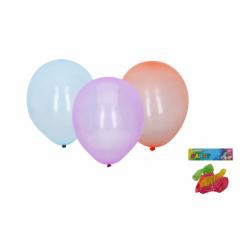 Balónek nafukovací 25cm - sada 6ks, krystalové