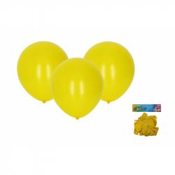 Balónek nafukovací 30cm - sada 10ks, žlutý