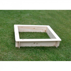 Pískoviště dřevěné 100x100x20 cm