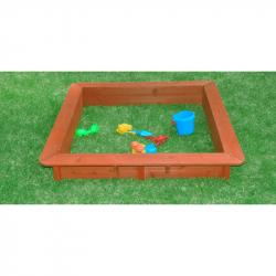 Pískoviště dřevěné 120x120x20 cm