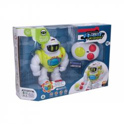Kiddy Robot RC na dálkové ovládání opakovací 21 cm