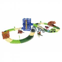 Autodráha Dino park s výtahem 1 auto