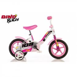 Dino Bikes Detský bicykel ružové