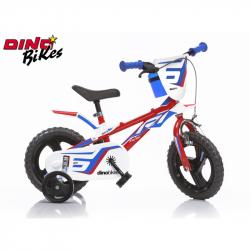 Dino Bikes Detský bicykel červené