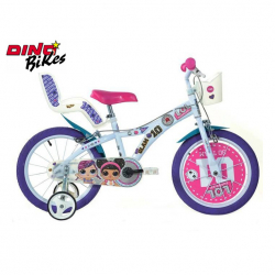 Dino Bikes Detský bicykel LOL SURPRISE