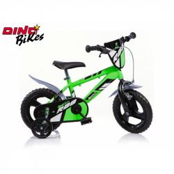 Dino Bikes Detský bicykel zelenej