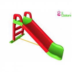 DOLONI Skluzavka 140 cm červeno-zelená
