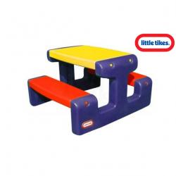 Piknikový stolček Junior modrý