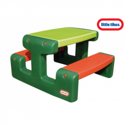 Piknikový stolček Junior zelený