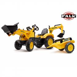 FALK Šliapací traktor 2086 Komatsu