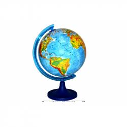 Globus zemepisný 25cm