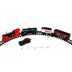 Model RC Train King ze światłem i dymem