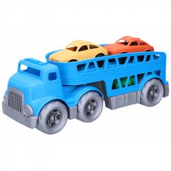 Ciągnik z samochodami 37 cm