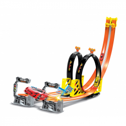 Dráha Power Track s dvoma autami