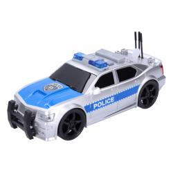 auto policejní, 19 cm, BO, světelné