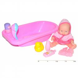 Dziecko 24 cm z wanną
