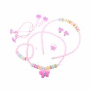 Módní set 7 ks (čelenka, náhrdelník, sponky)