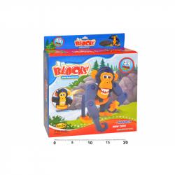 Puzzle 3D Szympans