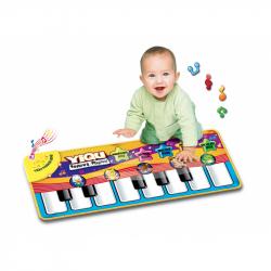 Fortepian - dotykowy koc dla najmłodszych