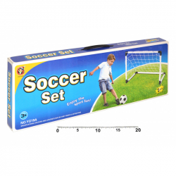 Bránky futbalové set 2 ks