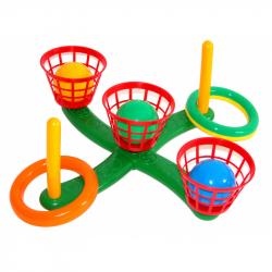Házení kroužků a míčků