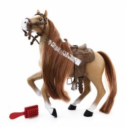 Royal Breeds - Koń z grzbietem 18 cm