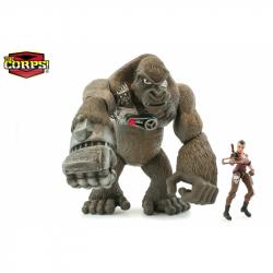 Gorila s Amazonkou 23 cm