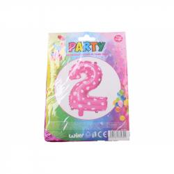 nafukovací balónek - číslo 2 holky
