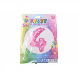 nafukovací balónek - číslo 4 holky