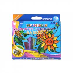 Barwy szkła 10x10,5 cm
