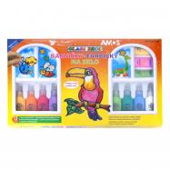 Barvy na sklo 13x22 ml