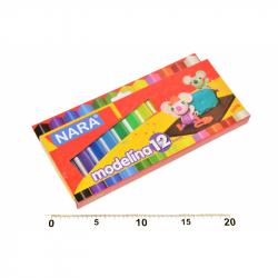 Modelína Nara 12 barev 200g