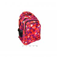 Školní batoh geometrické tvary