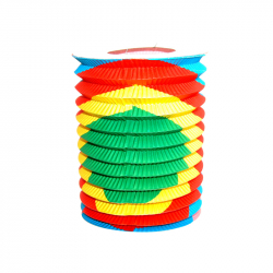 Lampion válec 15 cm