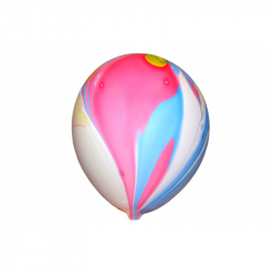 Balónik nafukovacie dúha 10 ks