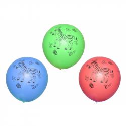 Balónik s potlačou zvieraťa 10 ks