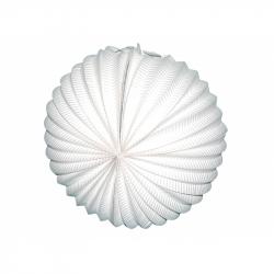 Lampión guľa biely 25 cm