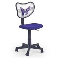 Dětská otočná židle Halmar WING fialová