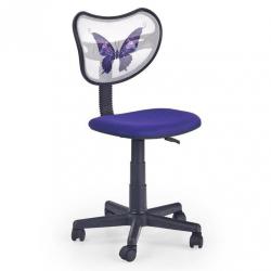 Halmar Krzesło do biurka WING fioletowe
