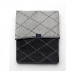 Detská bavlnená deka so vzorom Womar 75x100 grafitovo-šedá