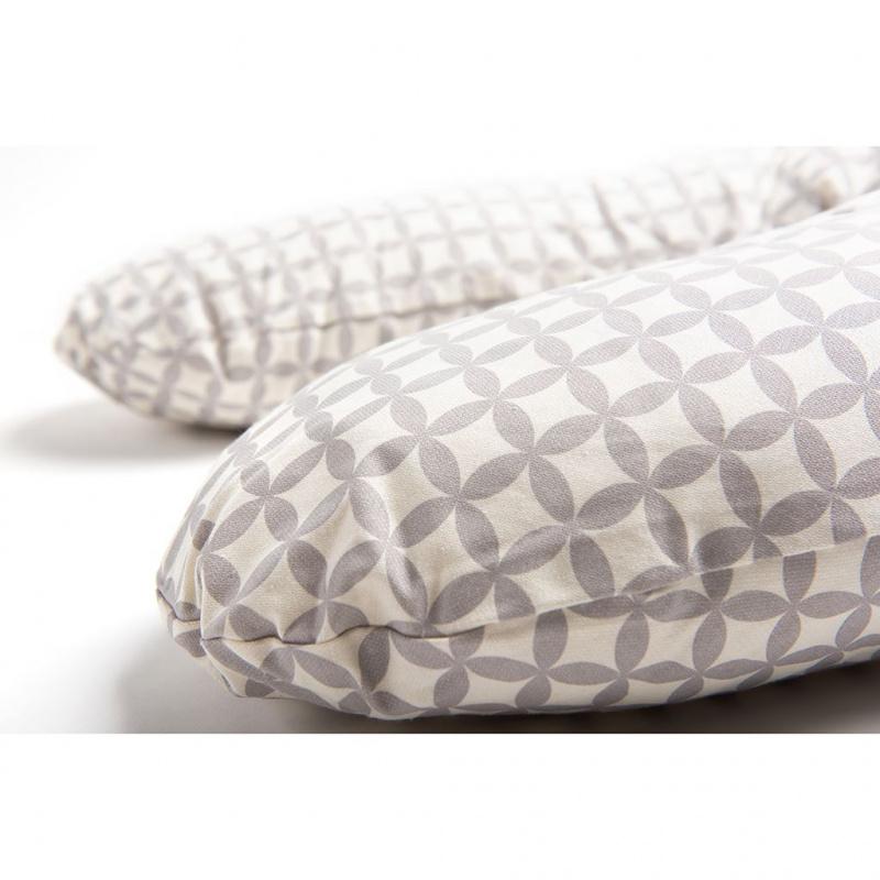Uniwersalna poduszka do karmienia Womar beżowy wzór
