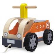 Dřevěné hračky - Dřevěné odrážedlo náklaďák
