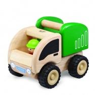 Dřevěné auto Mini Popelář