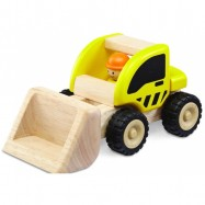 Drevené hračky - drevené auto - Mini nakladač