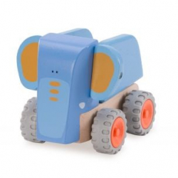 Drevený Mini sklápač Slon