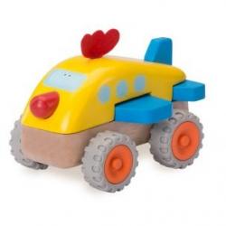 Dřevěné Mini letadlo kuře