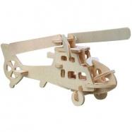 Dřevěné 3D puzzle - Vrtulník HA202